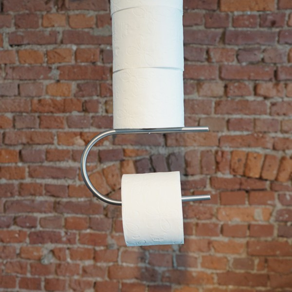 Designer Klopapierhalter von D-Tec aus dem Möbelhaus Chemnitz, Tuffner Möbelgalerie