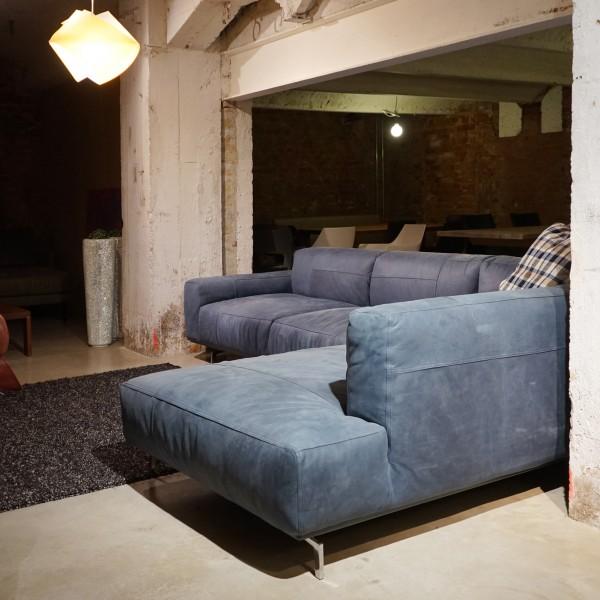 """Designer Ledersofa und Polstergarnitur und Couch """"Loulou"""" von Tommy M, Möbelhaus Chemnitz, Tuffner Möbelgalerie"""