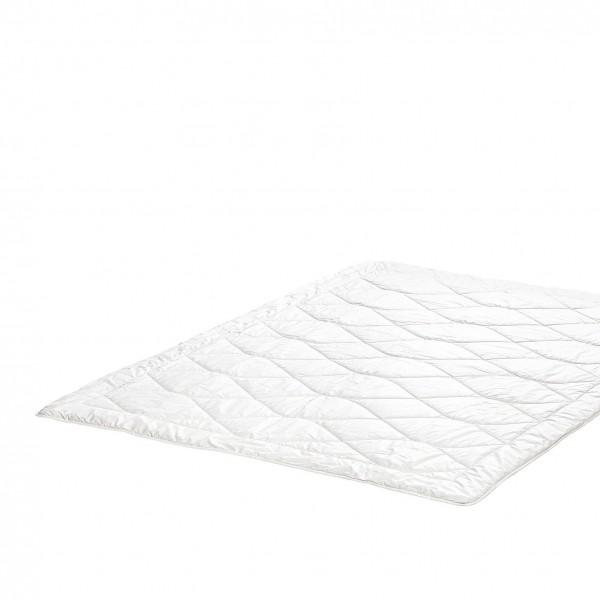 leichte Zudecke Bettdecke aus Alpaka Wolle Natur und natürlich