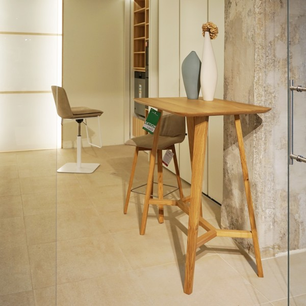 Designer Stehtisch aus Massivholz Eiche von Sixay, Küchenstudio und Möbelhaus Chemnitz, Tuffner Möbelgalerie