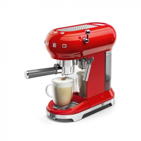 Espresso Kaffeemaschine und Zubehör von smeg, Küchengeräte und Elektrogeräte aus dem Möbelhaus Chemnitz, Tuffner Möbelgalerie