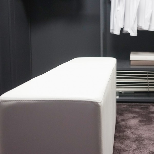 Sitzbank, Design, Leder, echt, Varier, Pomp, Qualität, Möbel Chemnitz, Tuffner Möbelgalerie