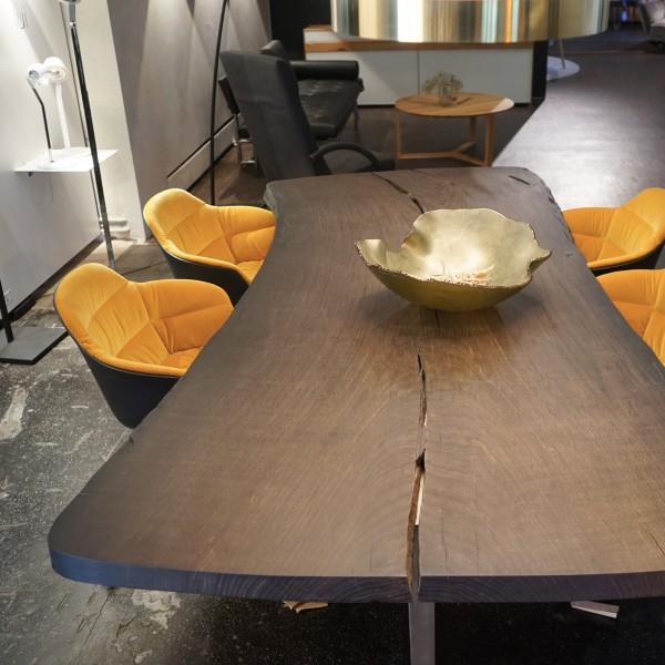Esstisch, Design, Mooreiche, Wohnzimmer, Massivholz, echt, Qualität, Unikat, Möbel Chemnitz, Tuffner Möbelgalerie