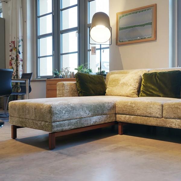 Brühl Designer Sofa mit Funktionen aus dem Möbelhaus Chemnitz der Tuffner Möbelgalerie