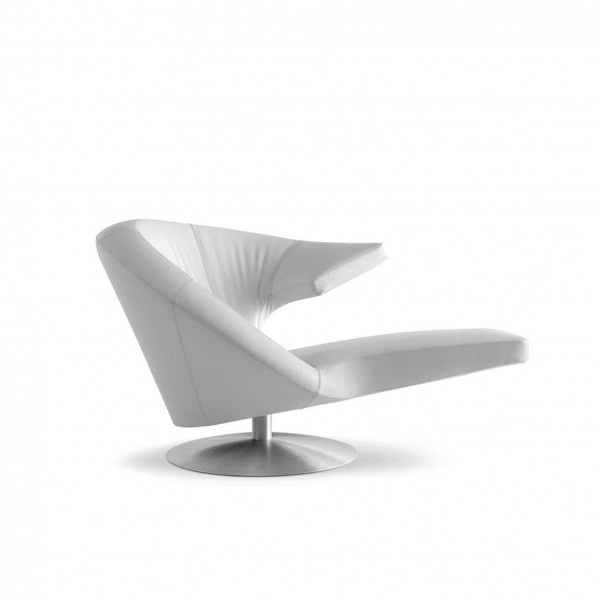 Designer Sessel Parabolica aus echtem Leder von Leolux aus dem Möbelhaus Tuffner Möbelgalerie in Chemnitz, Herstellerfoto