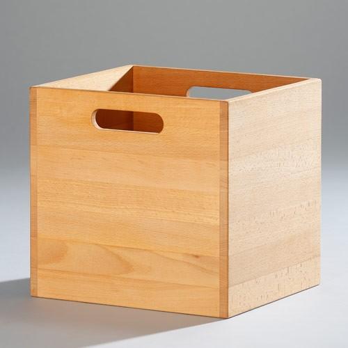 Wasa Stapelbox aus Massivholz Buche, Möbelhaus Chemnitz, Tuffner Möbelgalerie