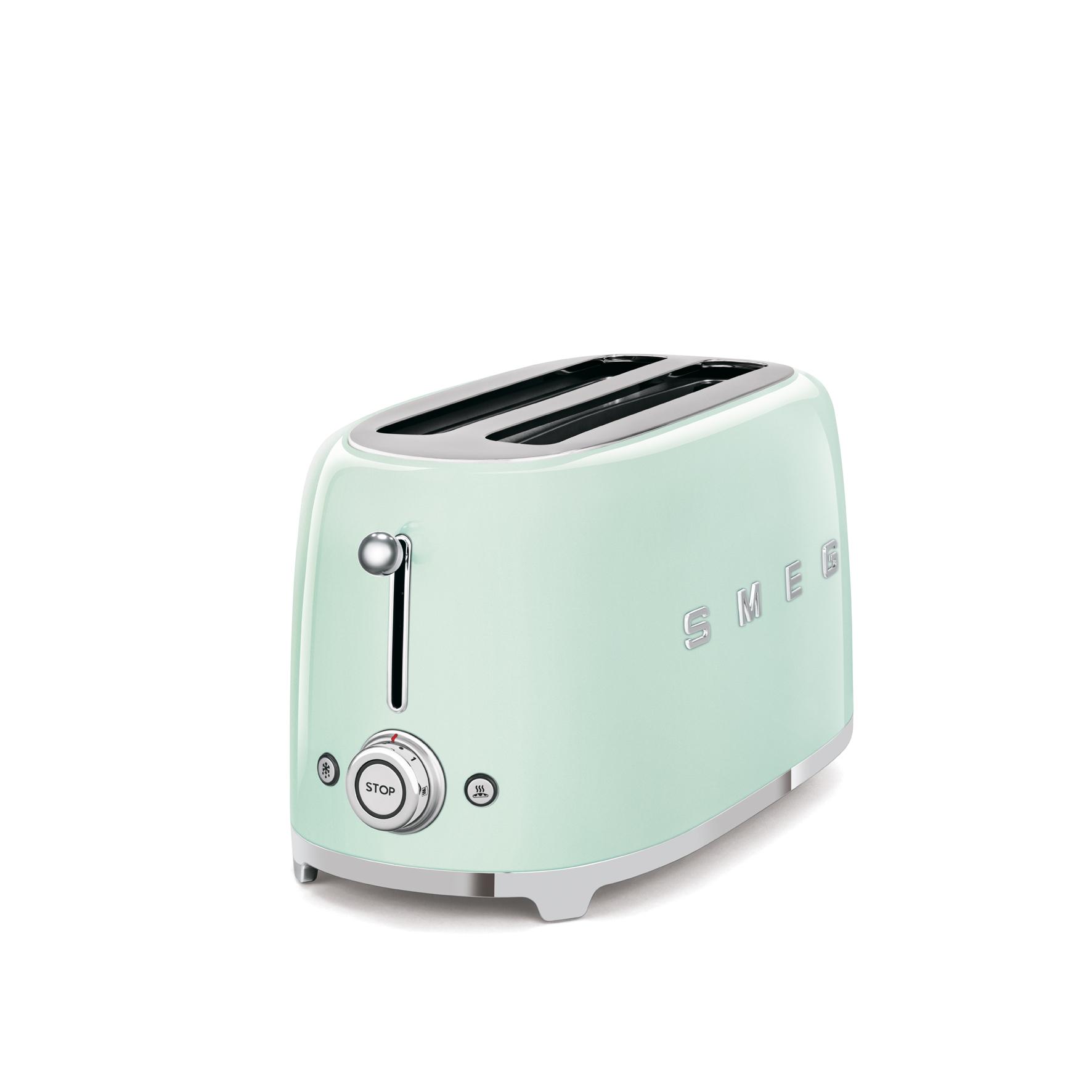 Innovativer Designer 2 Schlitz Toaster Von Smeg Kuchengerate Und Elektrogerate Aus Dem Mobelhaus Chemnitz Tuffner Mobelgalerie Tuffner Onlineshop