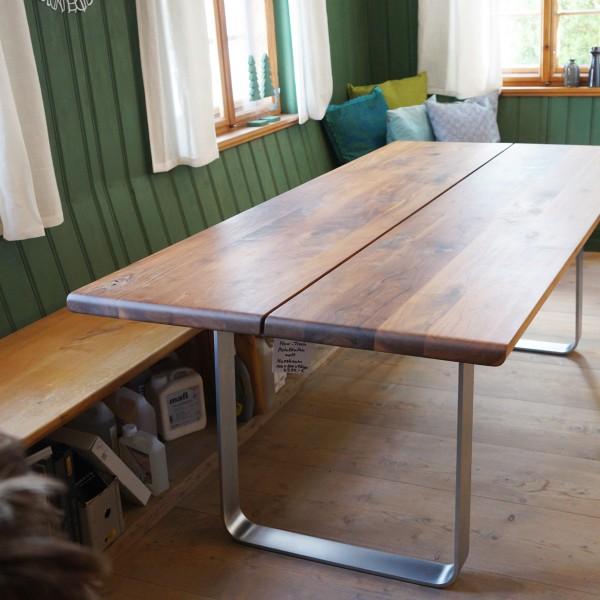 Esstisch, Tisch, Massivholz, Team 7, Design, Wohnzimmer,Qualität, Möbel Chemnitz, Tuffner Möbelgalerie