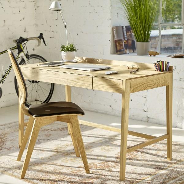 Designer Massivholz Sekretär und Schreibtisch von Sixay - Naturmöbel  aus dem Möbelhaus Chemnitz