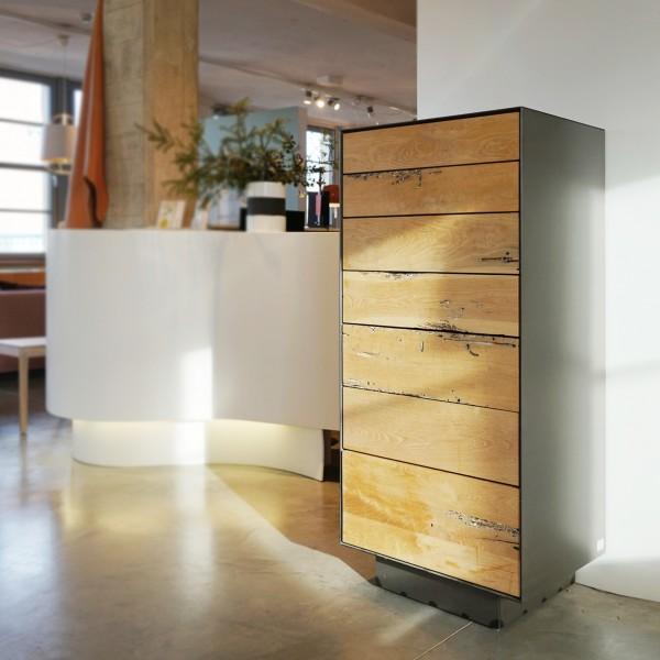 Designer Kommode mit venezianischer Eiche, Highboard aus dem Möbelhaus Chemnitz, Tuffner Möbelgalerie