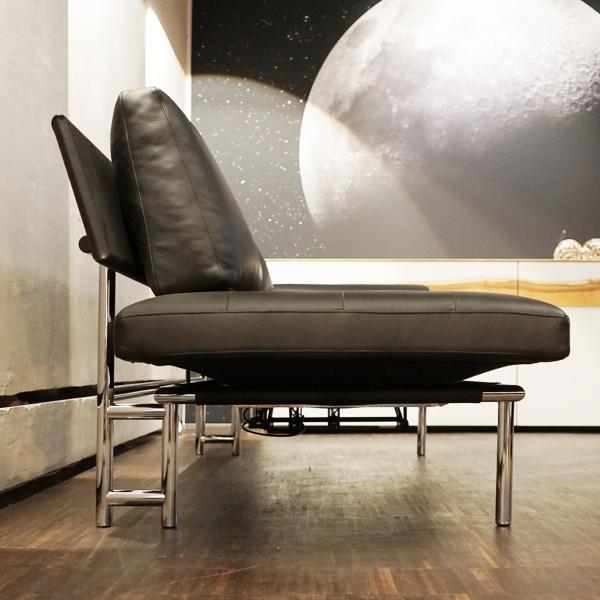 IP Design Echt Leder Sofa mit Funktionen aus dem Möbelhaus Chemnitz der Tuffner Möbelgalerie